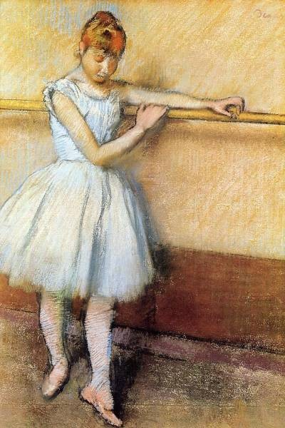 Dancer at the Barre Edgar Degas circa 1880